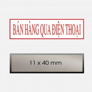 khac dau noi dung ban hang qua dien thoai